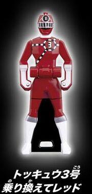 ToQ 3 Red Ranger Key