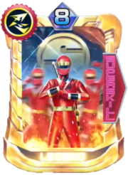 NinjaRed Card in Super Sentai Legend Wars