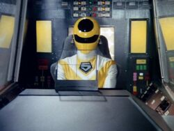 Maskman Yellow cockpit