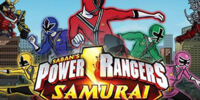 Power Rangers Samurai: Rangers Together Samurai Forever