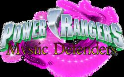 Power Rangers Mystic Defenders logo