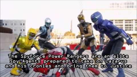 Power Rangers SpyForce - Mini Film