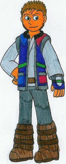 Rexadar Tyrano Ranger by MCsaurus