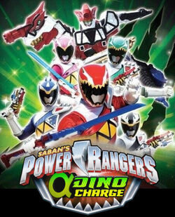 Power Rangers Alpha Dino Charge