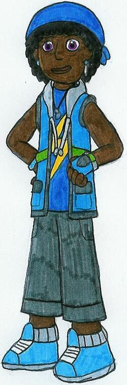 April Blue Ranger by MCsaurus