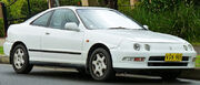 White-1993-1997 Honda Integra GSi coupe