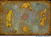 Azeroth Map