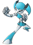 Jen XJ9 battle mode