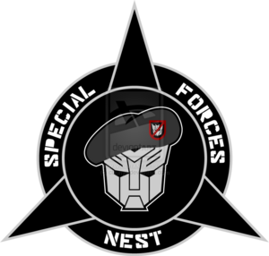Transformers nest special forces custom logo by cbunye-d4rvidt