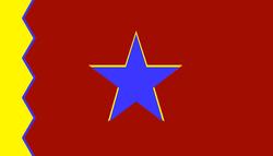 United People's Republic of Vietnam flag