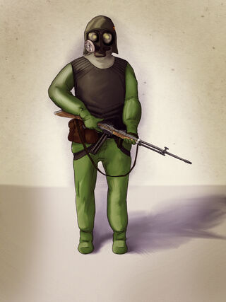 Hazardous Environmental Combat Protection Suit