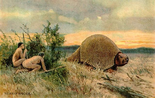 File:Glyptodon Heinrich Harder.jpg