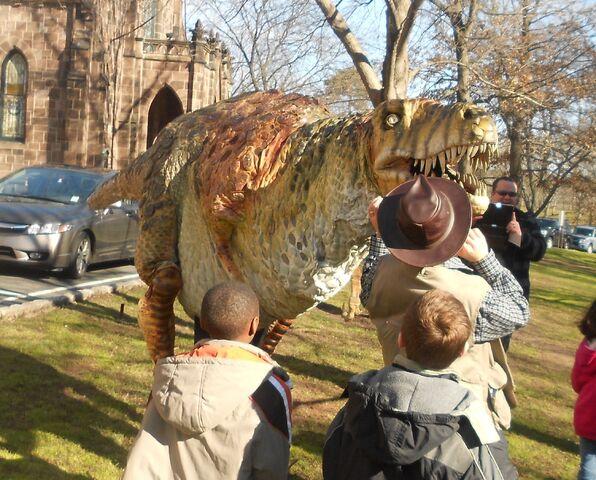 File:Field station dinosaurs rex puppet.jpg