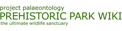 File:Prehistoric Park Wiki wordmark medium.png