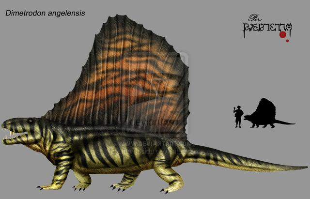 File:640px-Dimetrodon angelensis by Theropsida.jpg