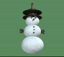 Snowman Landing Lights