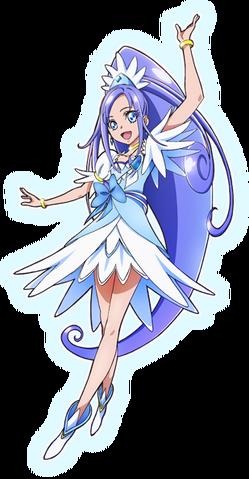 File:Doki Doki! Pretty Cure Cure Diamond pose2.png