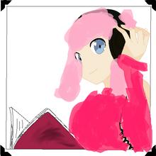 Anime girl with headphones base by brokewingsbases-d4sz9ge