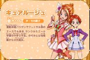 Cure Rouge Kiseki no Mahou