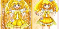 Pretty Cure All Stars Peace Star Card Collection