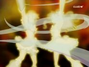 Futari wa Golden Storm in the last episode