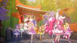 PCDS Cures arrive at Sakuragahara shrine