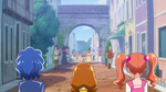 PCDS Aoi Himari Ichika arrive in the Magic World