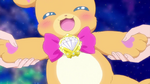 Mofurun during the transformation sequence