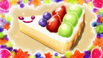 KKPCALM10 Hedgehog Fruit Tart