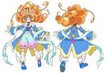 Cure Mofurun - Sapphire style