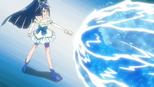 Doing the Aqua Tornado in episode 34