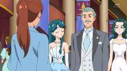 Minami parents talking to Asuka