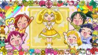 Cure Peace eyecatch