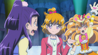 MTPC movie - Mirai presenting Cure Mofurun to Riko