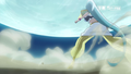 Cure Nile Dodges Phantom's Attack Happiness Charge Pretty Cure Episode 13