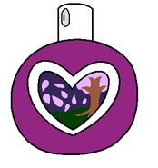 Lavender Angelic Planet Heart Perfume