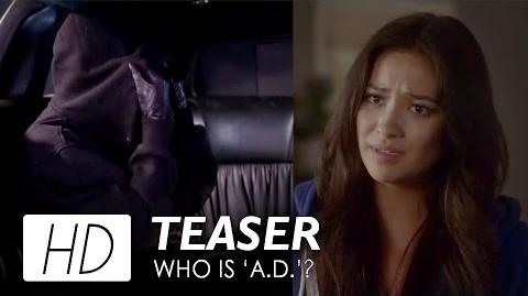 "Pretty Little Liars Season 7B Teaser Who Do You Think ""A.D"