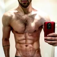 Ryan Guzman shirtless selfie