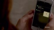 Aria's phone qw