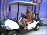 Amber Lancaster on Golf Cart-4