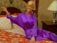 Teri Harrison in Satin Sleepwear-37