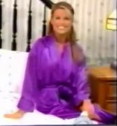Rachel in Satin Sleepwear-15