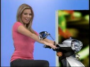 Amber Lancaster on Motor Scooter-1