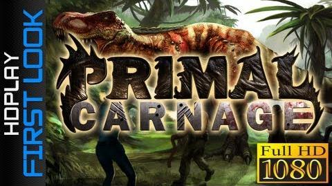 Primal Carnage - Carnotaurus Gameplay
