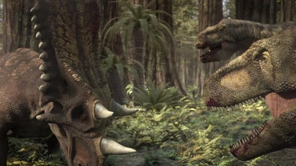File:Chasmosaurus fighting Daspletosaurus.jpg