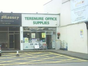 Primeval Continued office supply store