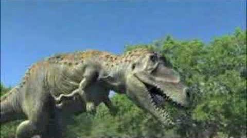 Carnotaurus Walking
