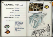 Smilodon factfile
