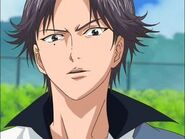 Atobe pulling a face
