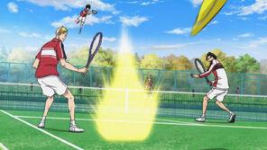 Kirihara Shiraishi VS Matsudaira Miyako where the Middle Schoolers win